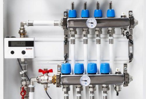 IMD-System värmemätare fördelarskåp
